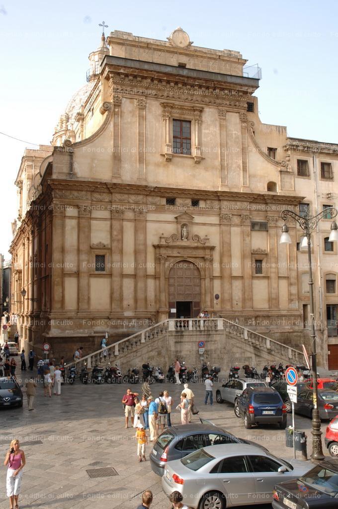 Palermo. Santa Caterina di Alessandria d'Egitto o Santa ...