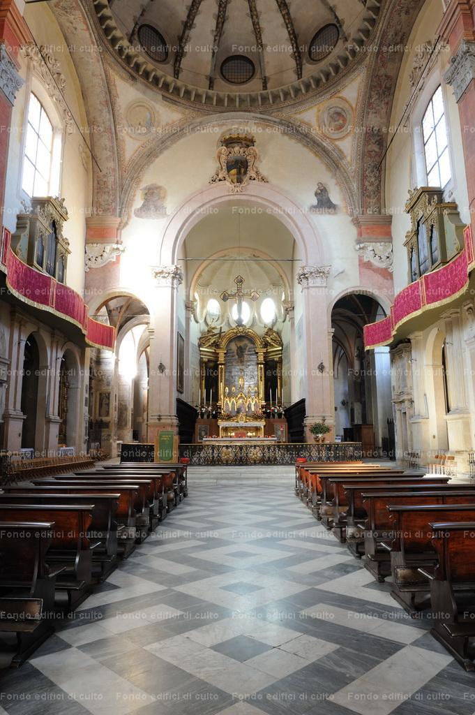 Bologna. San Giacomo Maggiore: interno, navata - FEC / Fondo Edifici ...