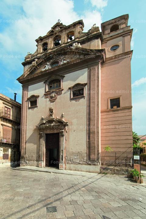Palermo. San Giovanni dell'Origlione: esterno, facciata ...