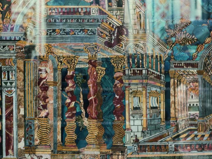 Palermo. Chiesa del Gesù o di Casa Professa: paliotto ...